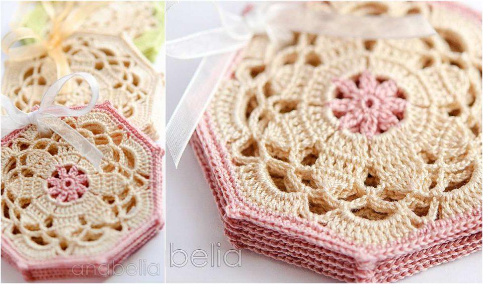 Vintage Coaster Free Crochet Pattern
