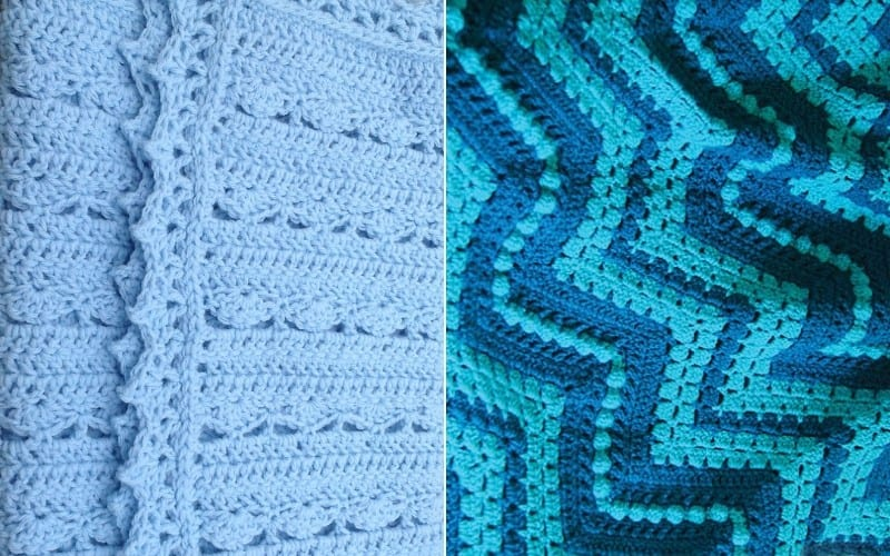 Blue Waters Blankets Free Patterns