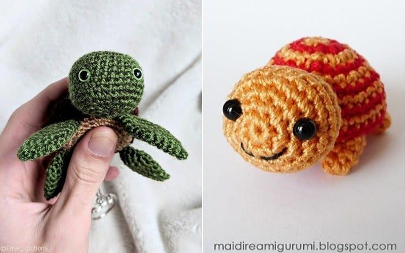 Little Turtles Free Crochet Patterns