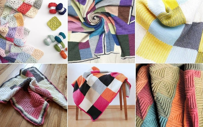 Modern Patchwork Throws Ideas and Patterns