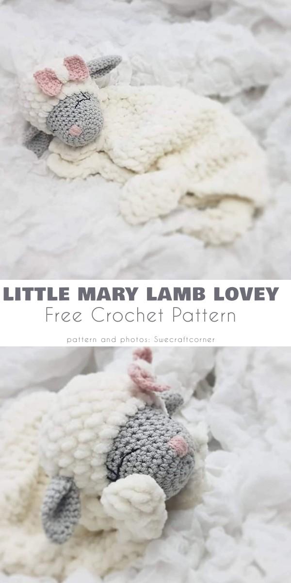 Little Mary Lamb Lovey