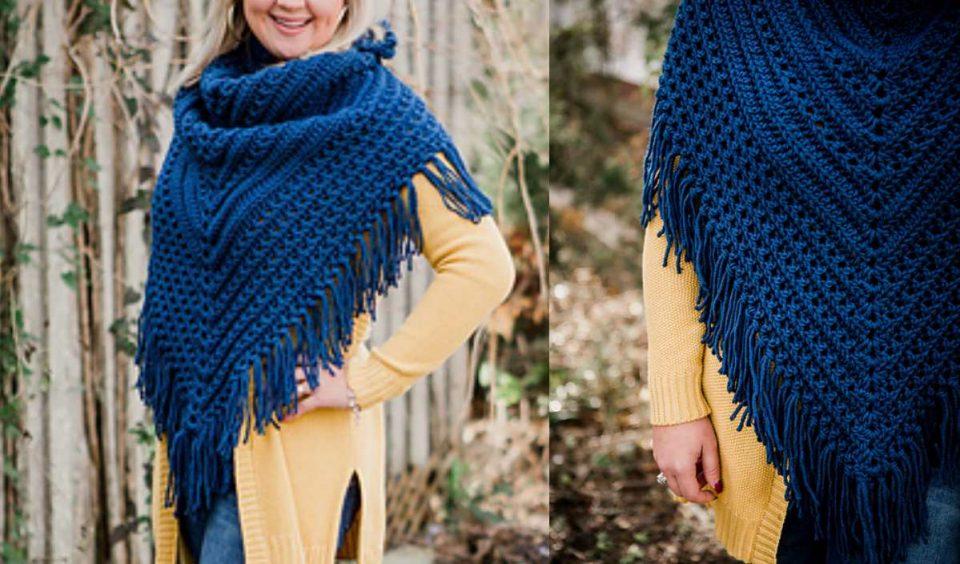 Huckleberry Scarf Free Crochet Pattern