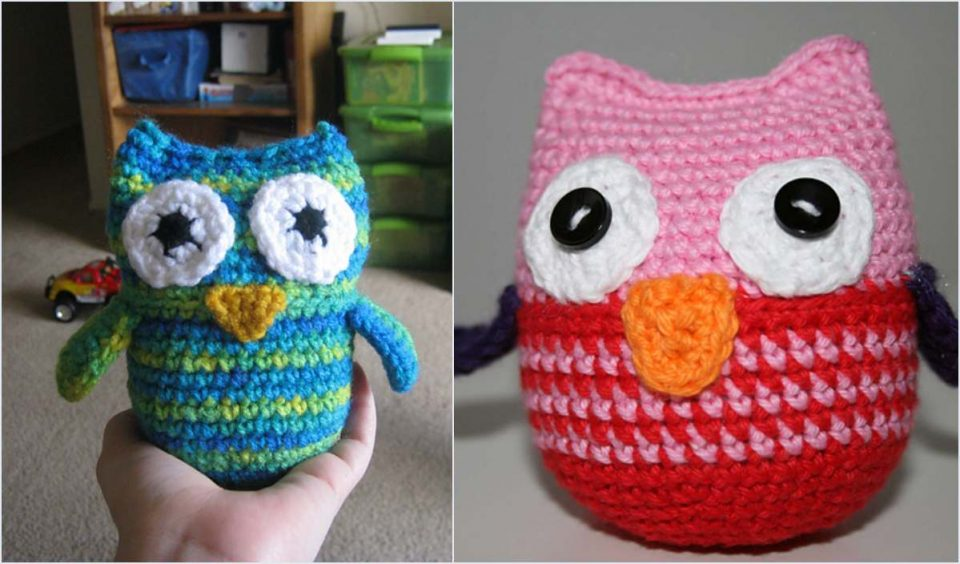 Woo Hoo Owl Easy Pattern for Beginners