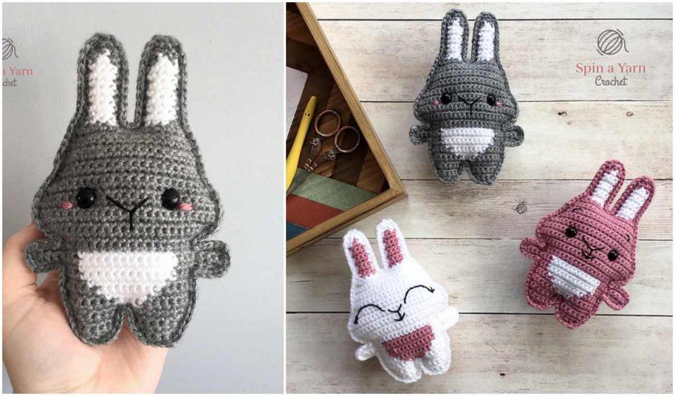 Pocket Bunny Free Crochet Pattern
