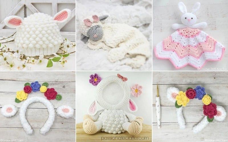 Sweet Crochet Lamb Ideas