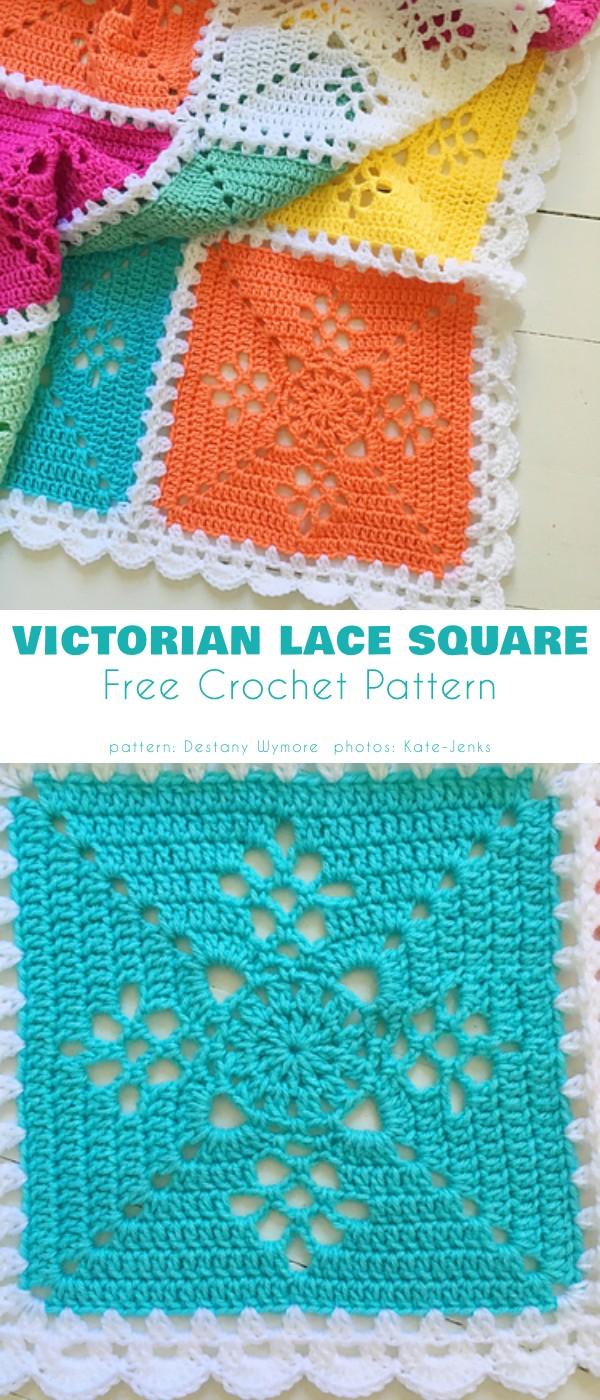 Victorian Lattice Baby Blanket