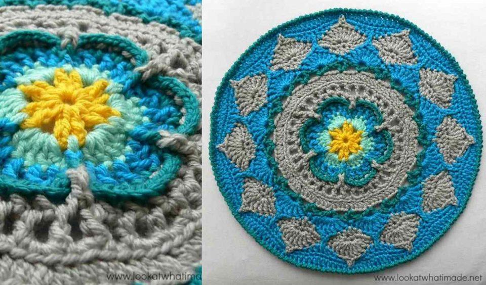 Sophie's Mandala Free Crochet Pattern