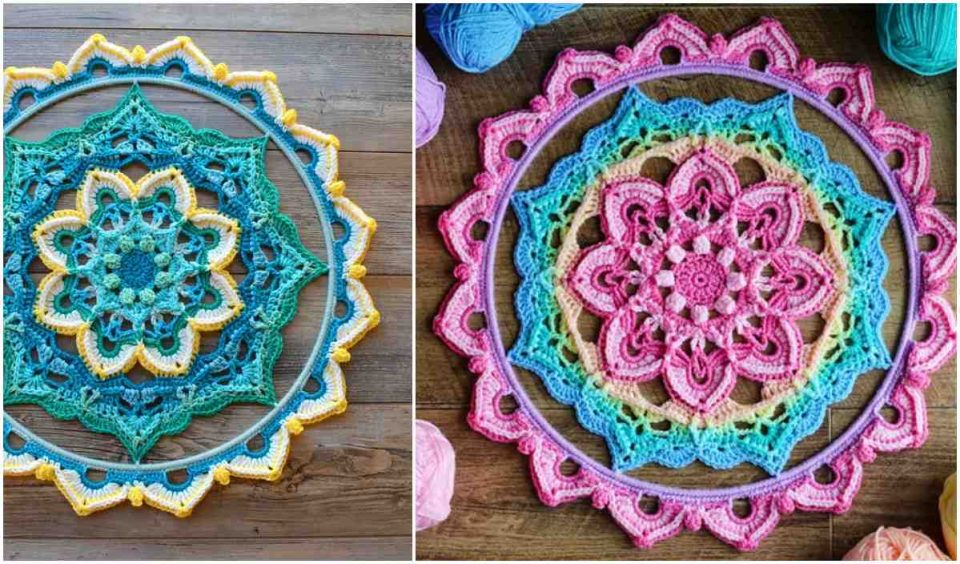 Connie's Ray of Hope Wall Hanging Crochet Pattern