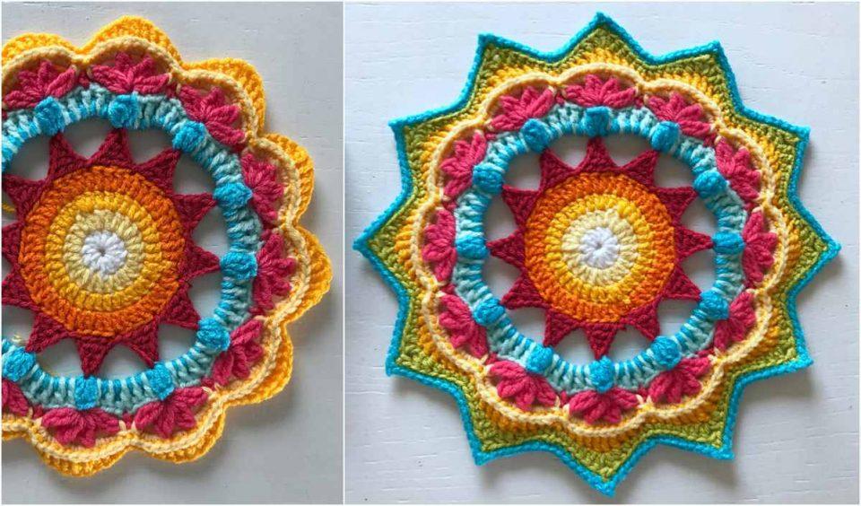 Ellor Mandala Free Crochet Pattern