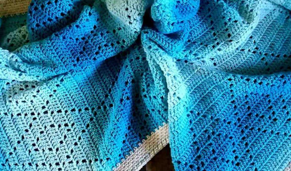 Hopscotch Harlequins Blanket Free Crochet Pattern