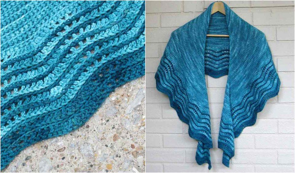 Nipigon Shawl Free Crochet Pattern