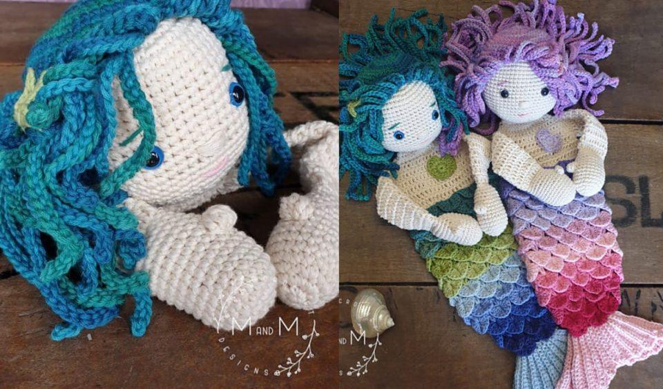 Shelly and Sandy Ami Mermaid