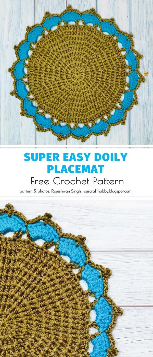 Crochet Doily Placemat