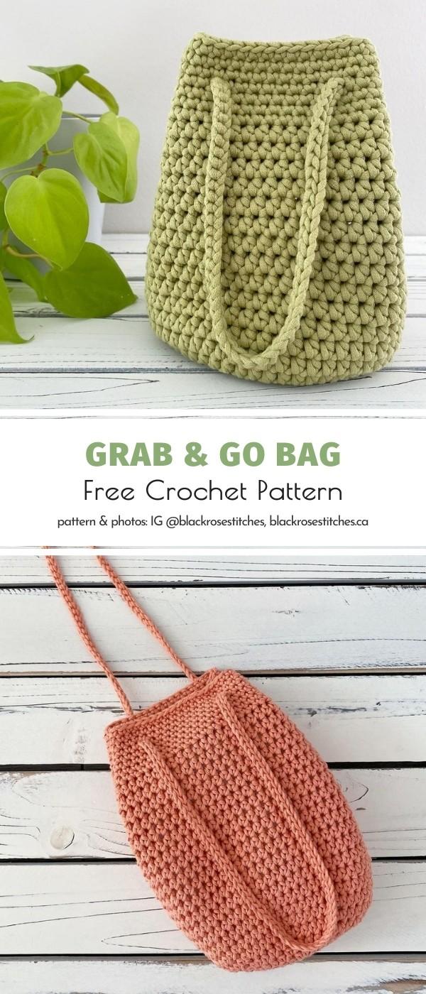 Bucket Crochet Bag