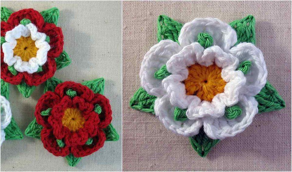 Kimberley's Rose Free Crochet Pattern