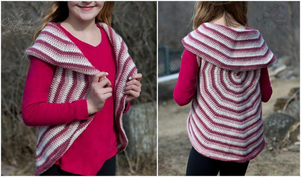 Lollipop Vest Free Crochet Pattern