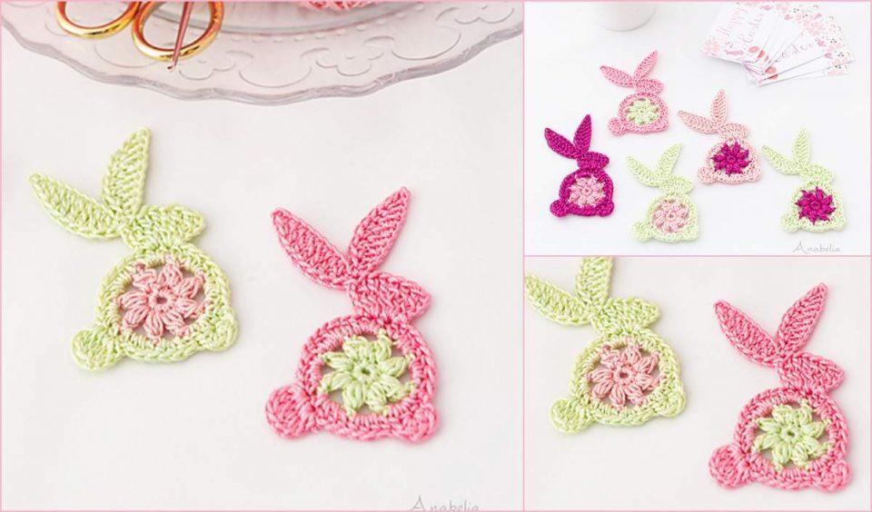 Easter Bunny Ornament Free Crochet Pattern
