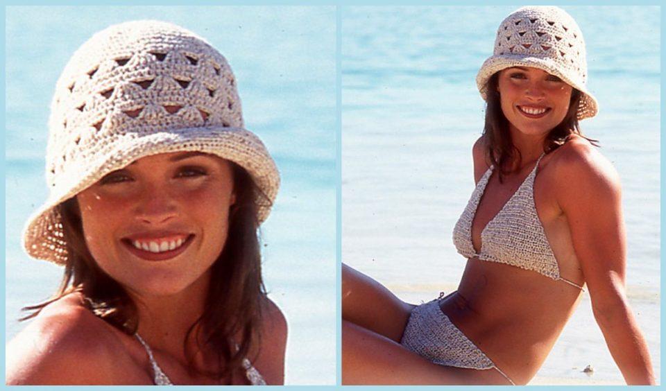 Summer Hat and Bikini Free Crochet Pattern