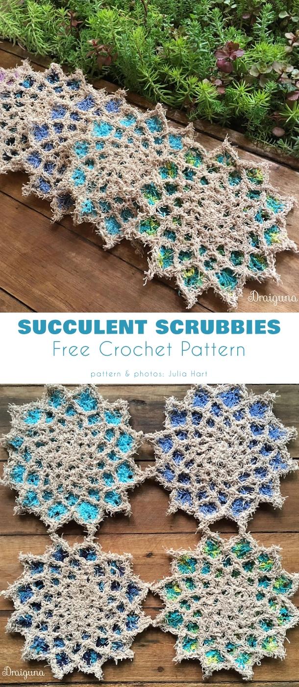 Succulent Scrubbies