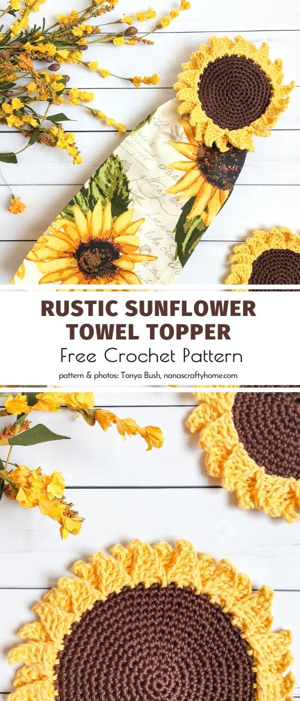 Sunflower Towel Topper