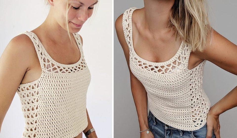 Aestas Top Free Crochet Pattern
