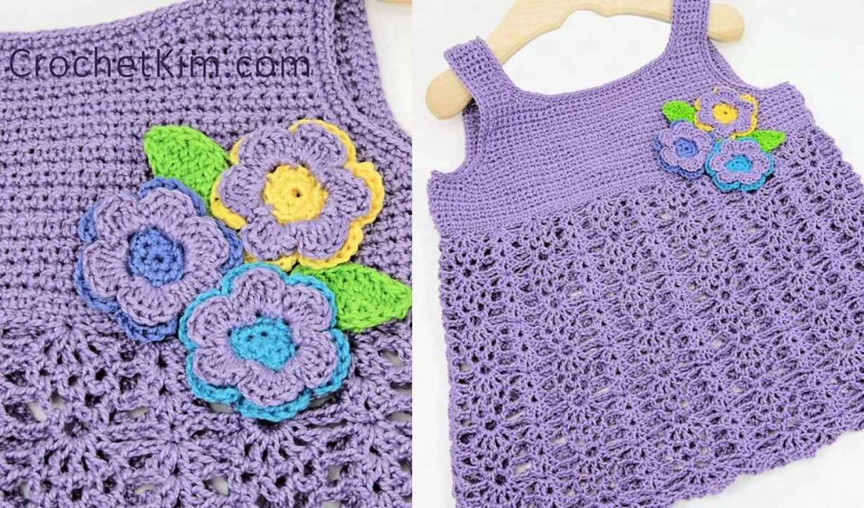 Bouquet Baby Top Free Crochet Pattern