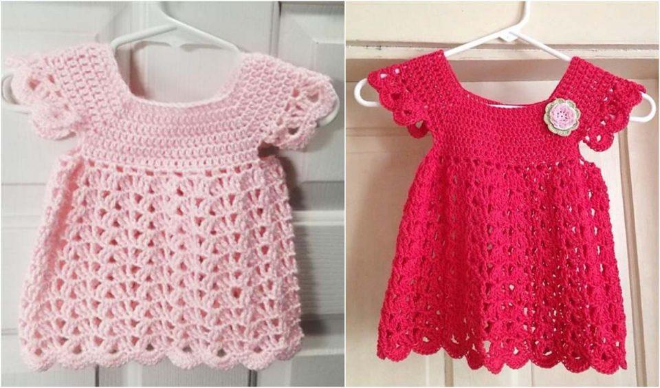 Angel Pop Over Dress Free Crochet Pattern