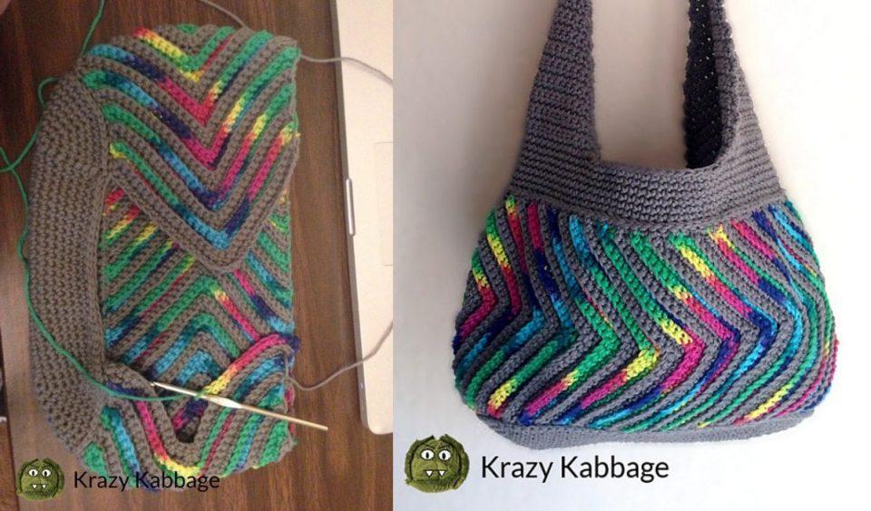 Fast-Forward Chevron Purse Free Crochet Pattern