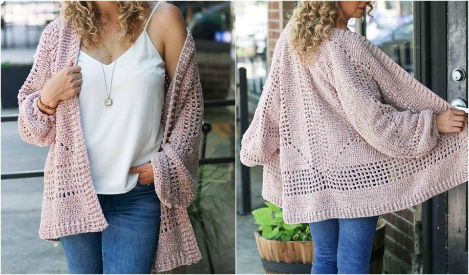 Brunch Cardigan Free Crochet Pattern