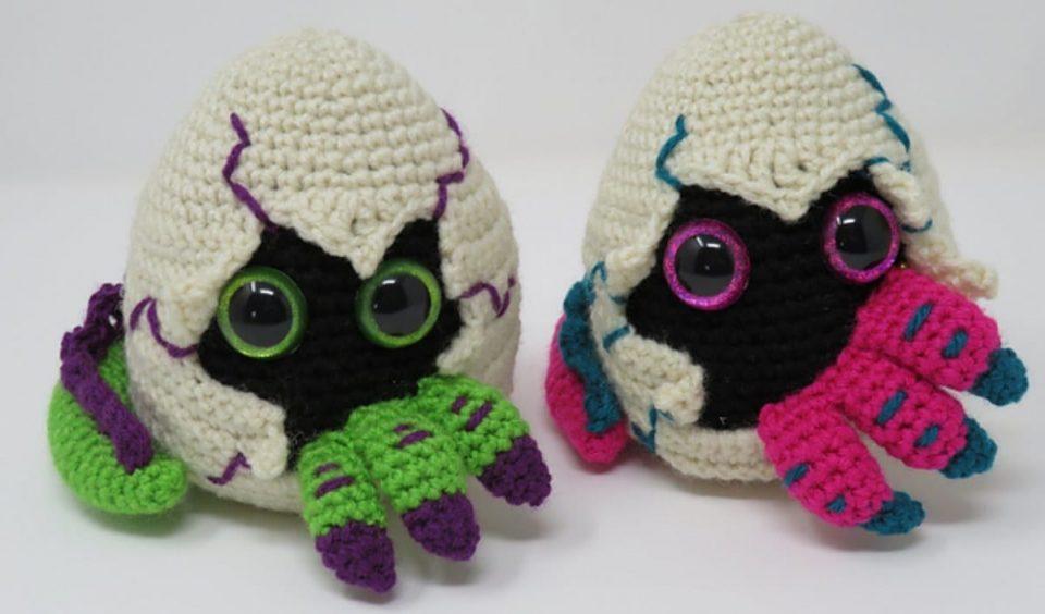 Hatching Dragon Egg Free Crochet Pattern