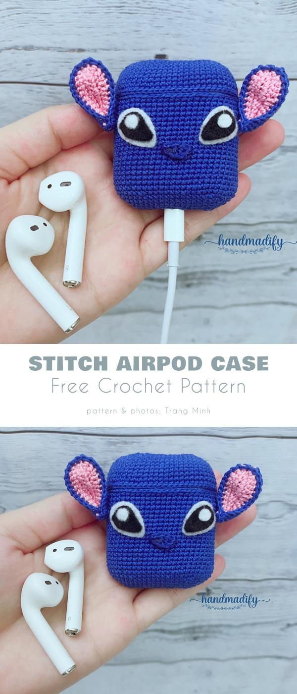 Stitch Airpod case