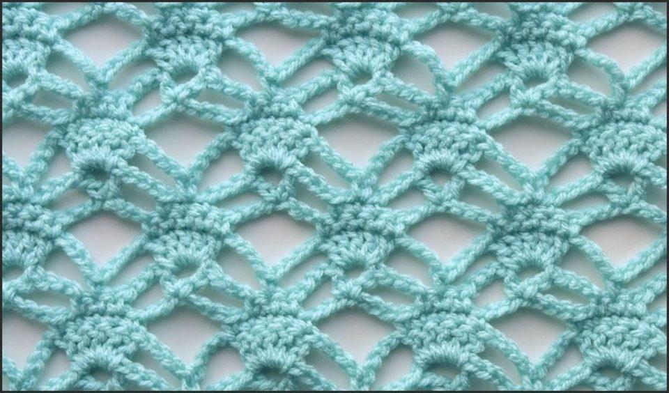 Candlelight Lace Stitch Free Crochet Pattern
