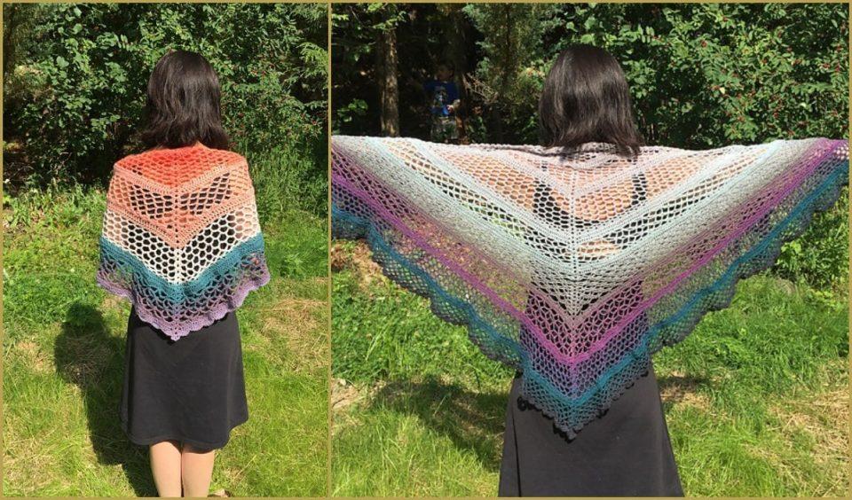 9/19 Shawl Free Crochet Pattern