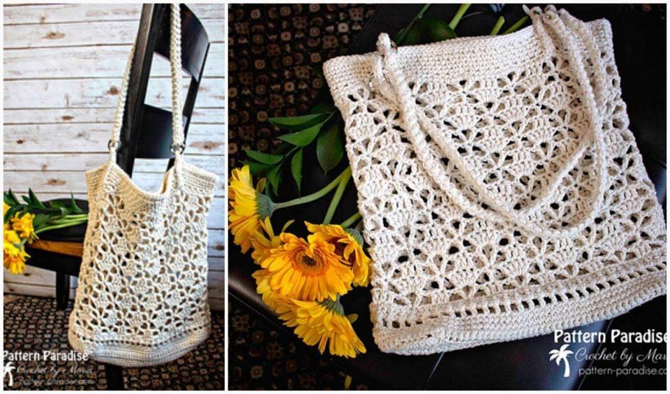 Bellissima Market Bag Free Crochet Pattern