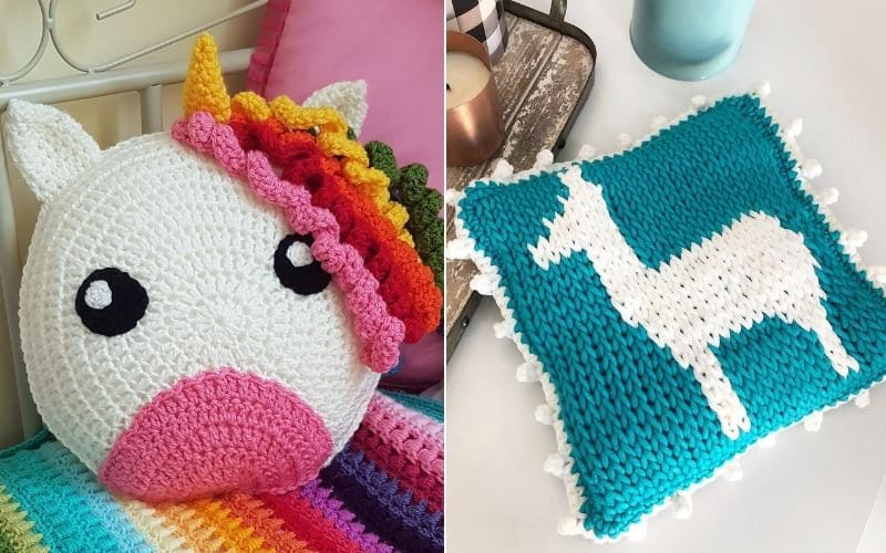 Perfect Kids' Room Pillows Free Crochet Patterns
