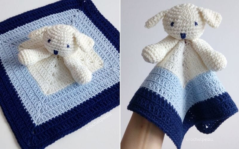 Puppy Baby Lovey Free Pattern and Tutorial