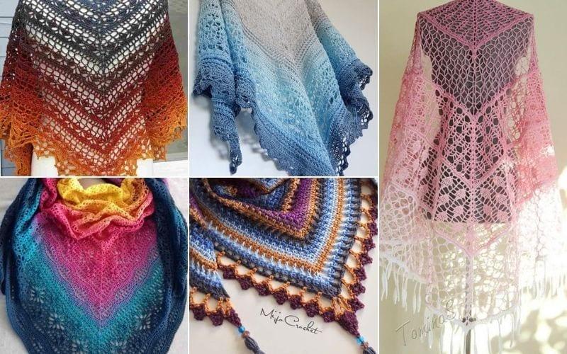 Stunning Crochet Shawls