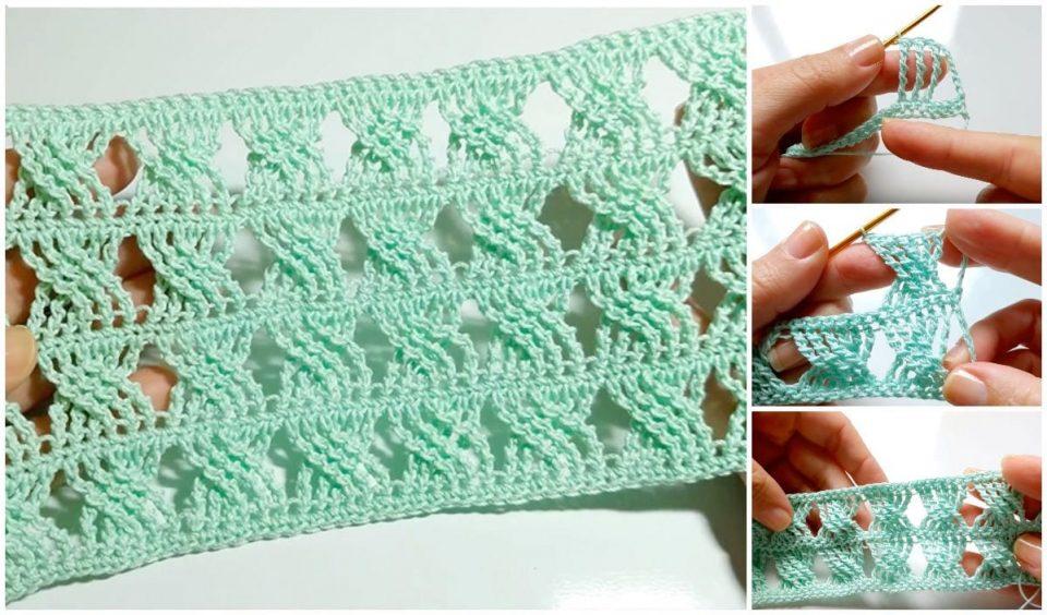 Easy Braided Crochet Stitch Free Pattern
