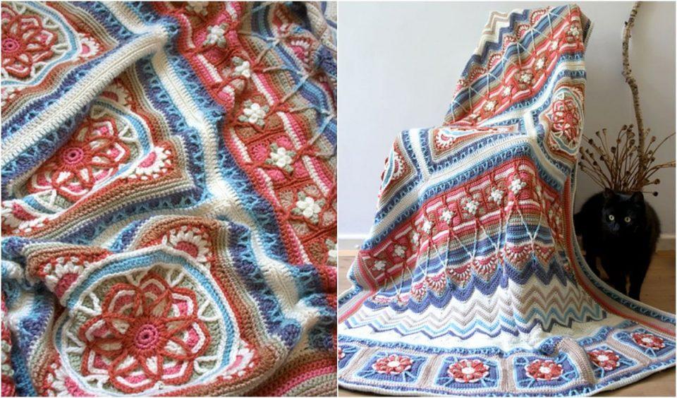 Indian Summer Cal Free Crochet Pattern