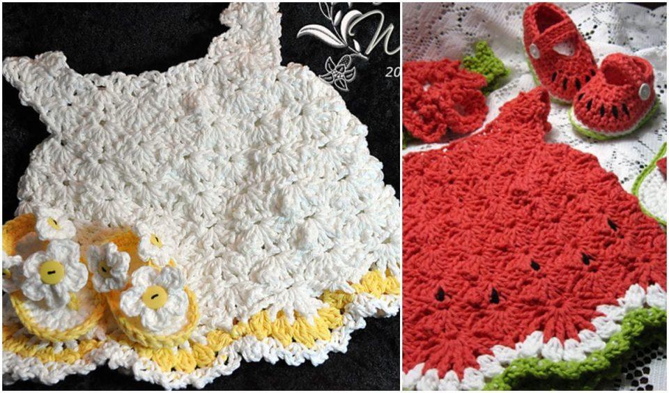 Little White Dress Free Crochet Pattern