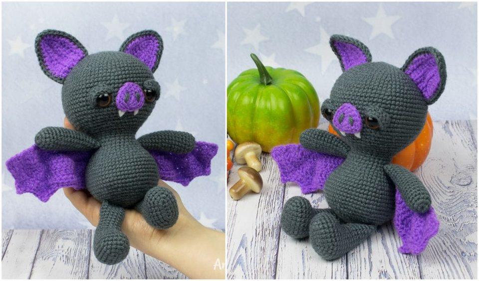 Cuddly Bat Free Crochet Patterns
