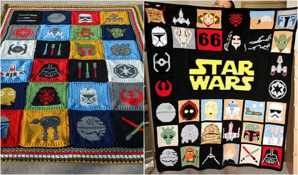 A Galaxy Far, Far Away Blanket Free Crochet Pattern