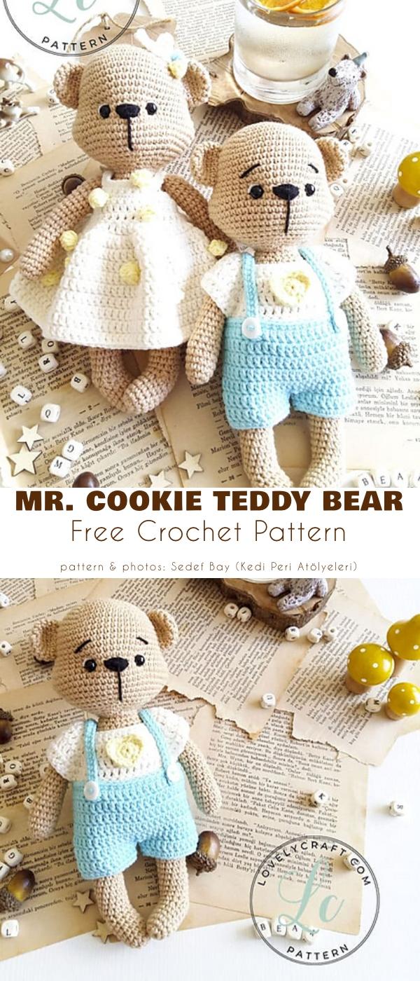 Mr Cookie Teddy Bear