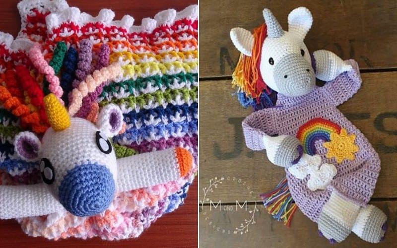 Unicorn Ragdolls Crochet Patterns
