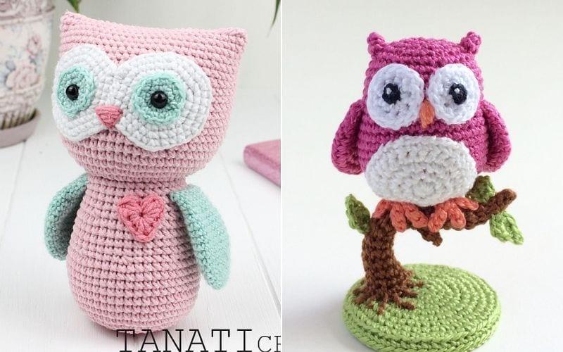 The Sweetest Amigurumi Owls