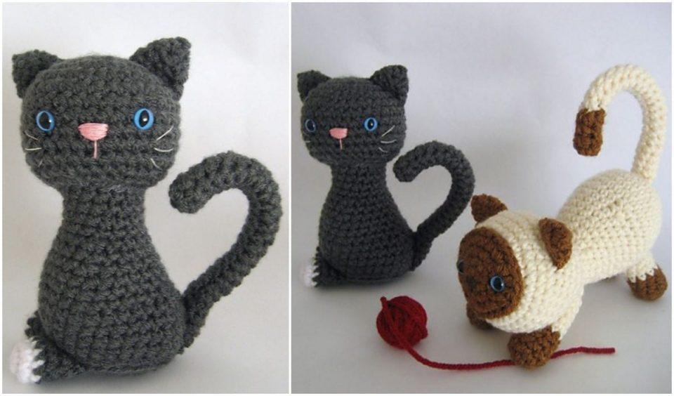 Kitten Amigurumi Free Crochet Pattern