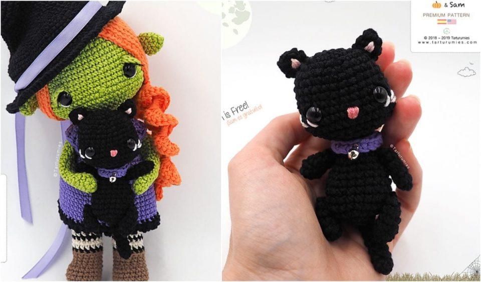 Black Cat Free Crochet Patterns