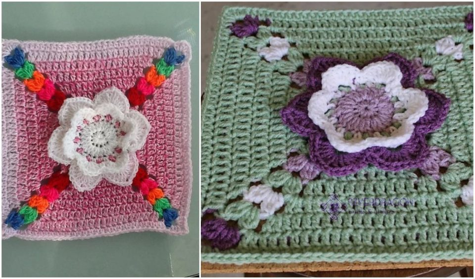 Tip Toe Through The Tulips Free Crochet Pattern