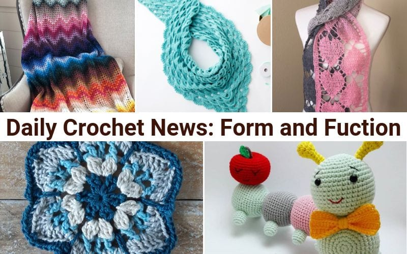 Daily Crochet News: Form and Function Free Crochet Patterns