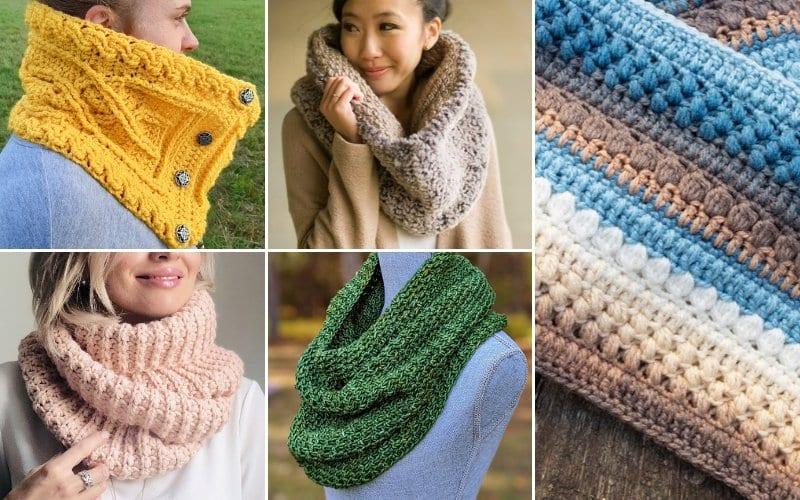 Warm Cowls For Winter Free Crochet Pattern
